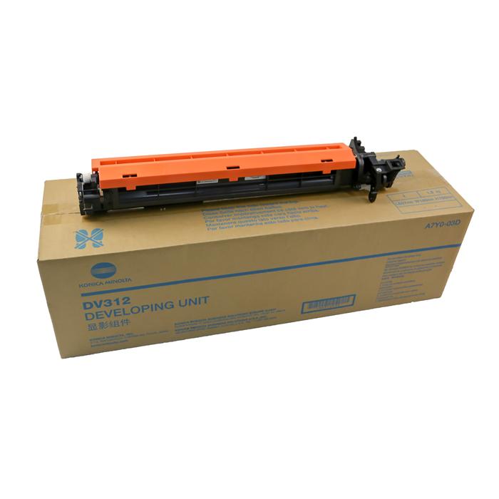 A7Y003D DV-312 Developer Unit (OEM) for Konica Minolta Bizhub 227/287/367