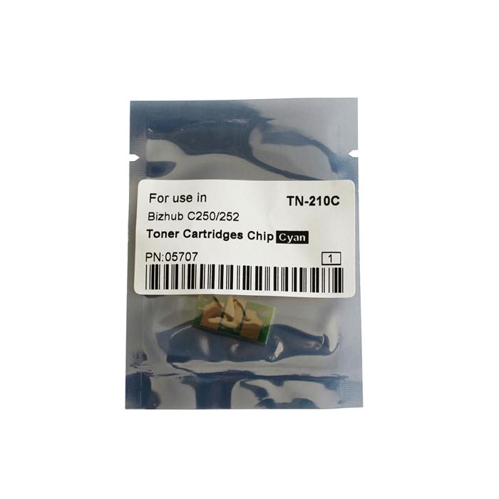 TN-210C Toner Chip for Konica Minolta Bizhub C250