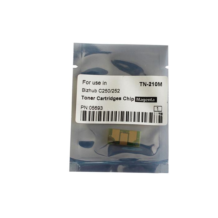 TN-210M Toner Chip for Konica Minolta Bizhub C250