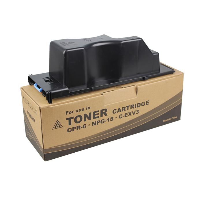 6647A003AA GPR-6/NPG-18/C-EXV3 Toner Cartridge for Canon iR2200/2800/3300/3320