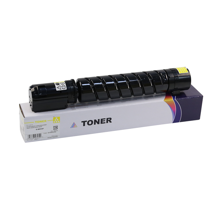 8519B002AA C-EXV47 CPP Yellow Toner Cartridge