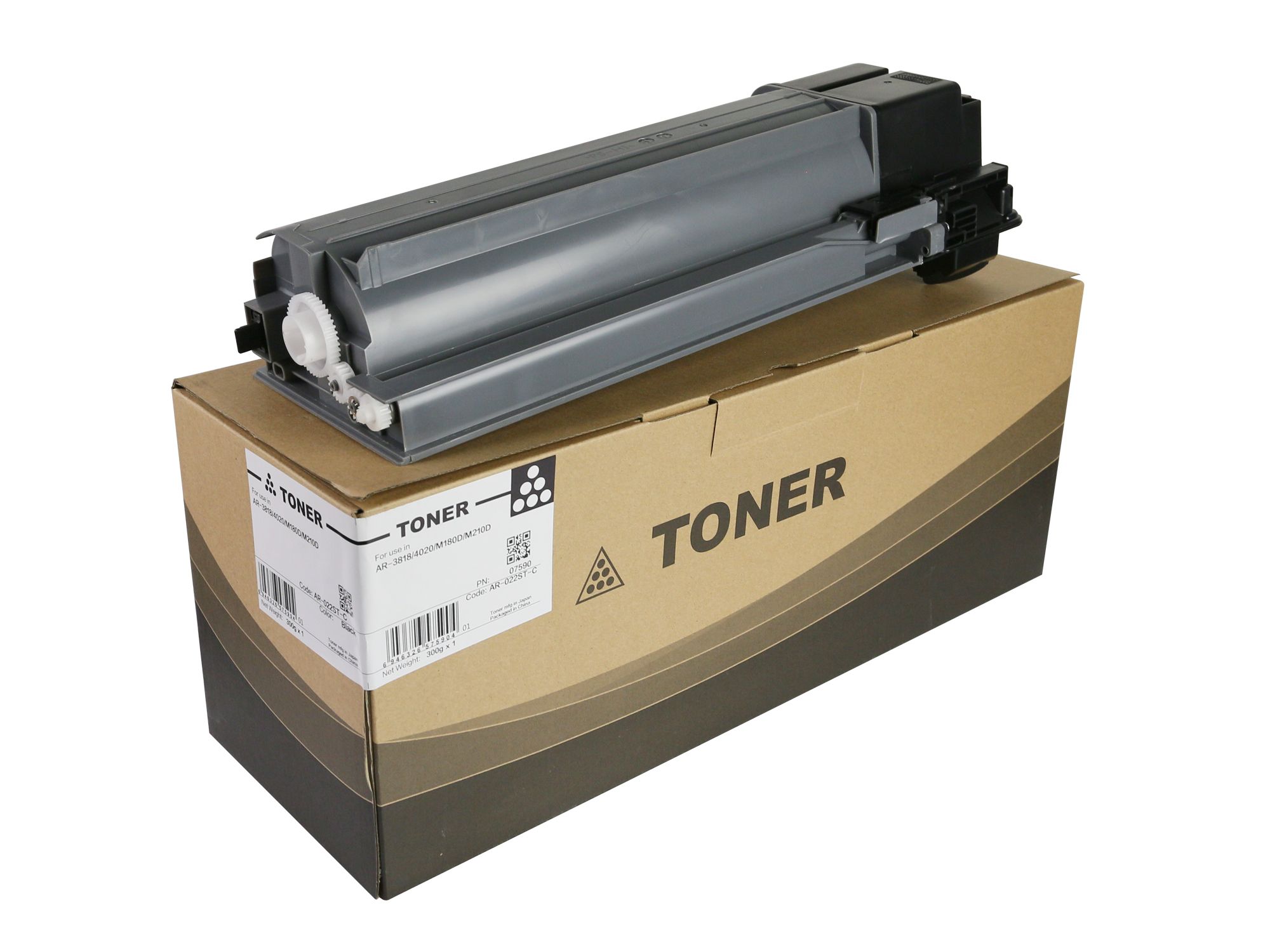 AR-022ST-C Toner Cartridge for Sharp AR3818