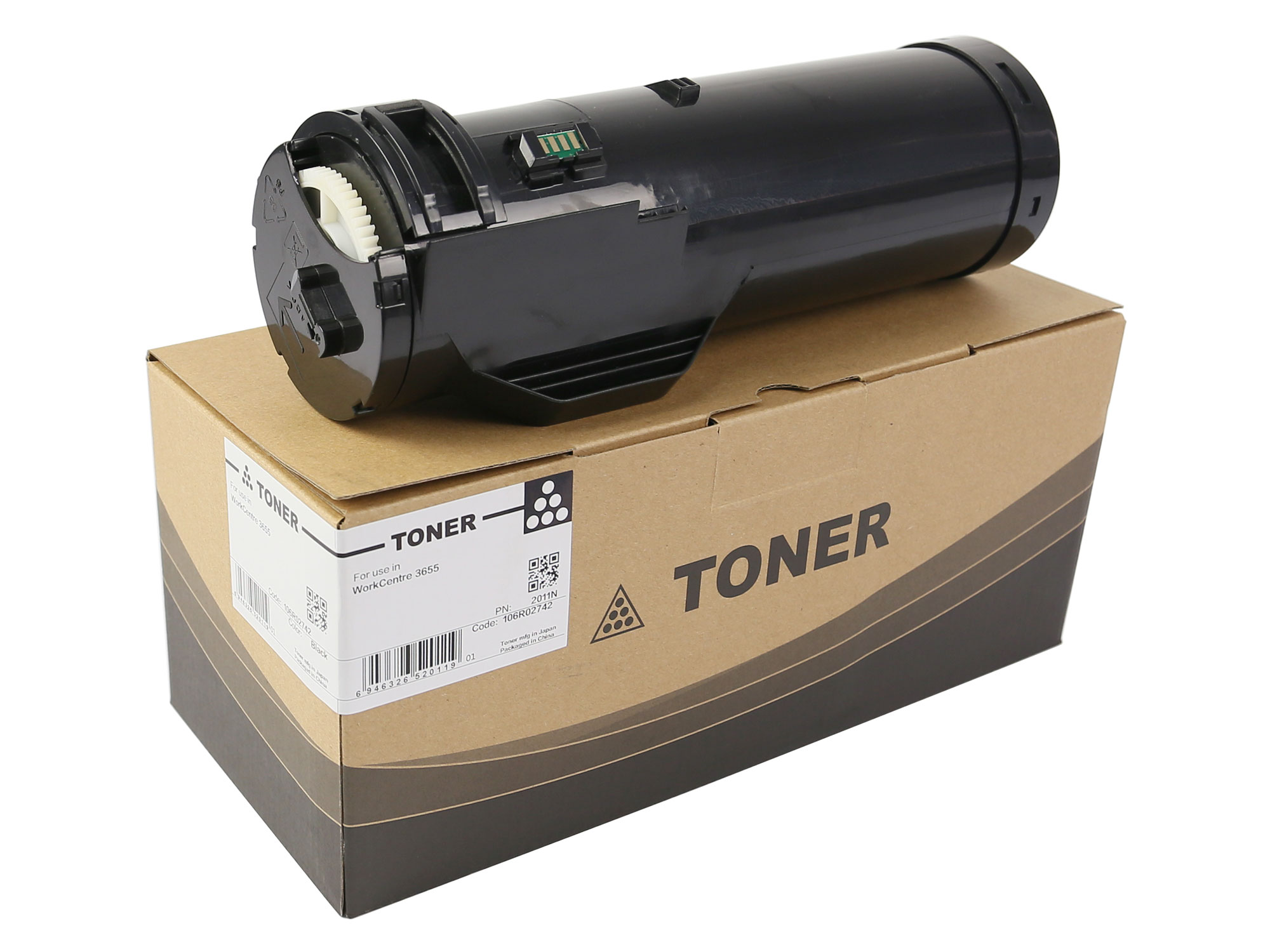 106R02742 Toner Cartridge Metered for Xerox WorkCentre 3655
