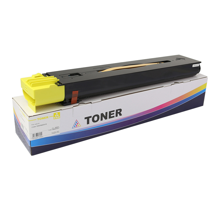 006R01522 Yellow Toner Cartridge Metered-Chemical for XEROX Color 550/560